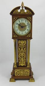 Victorian Oak Miniature Longcase Ccock