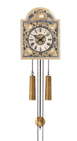 WU59 Helmut Mayr Dial Wall Clock - Front view