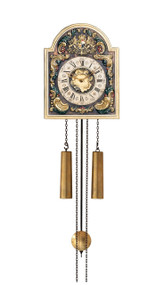 WU63 Helmut Mayr Wall Clock - Front view