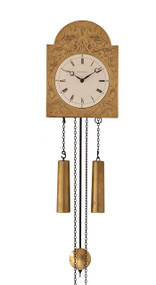 WU1160 Helmut Mayr Wall Clock - Front view