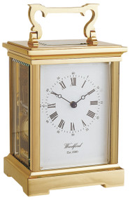 1458 - Woodford Grande Anglaise 8 Day Carriage Clock